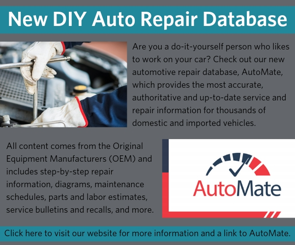 automate car repair database